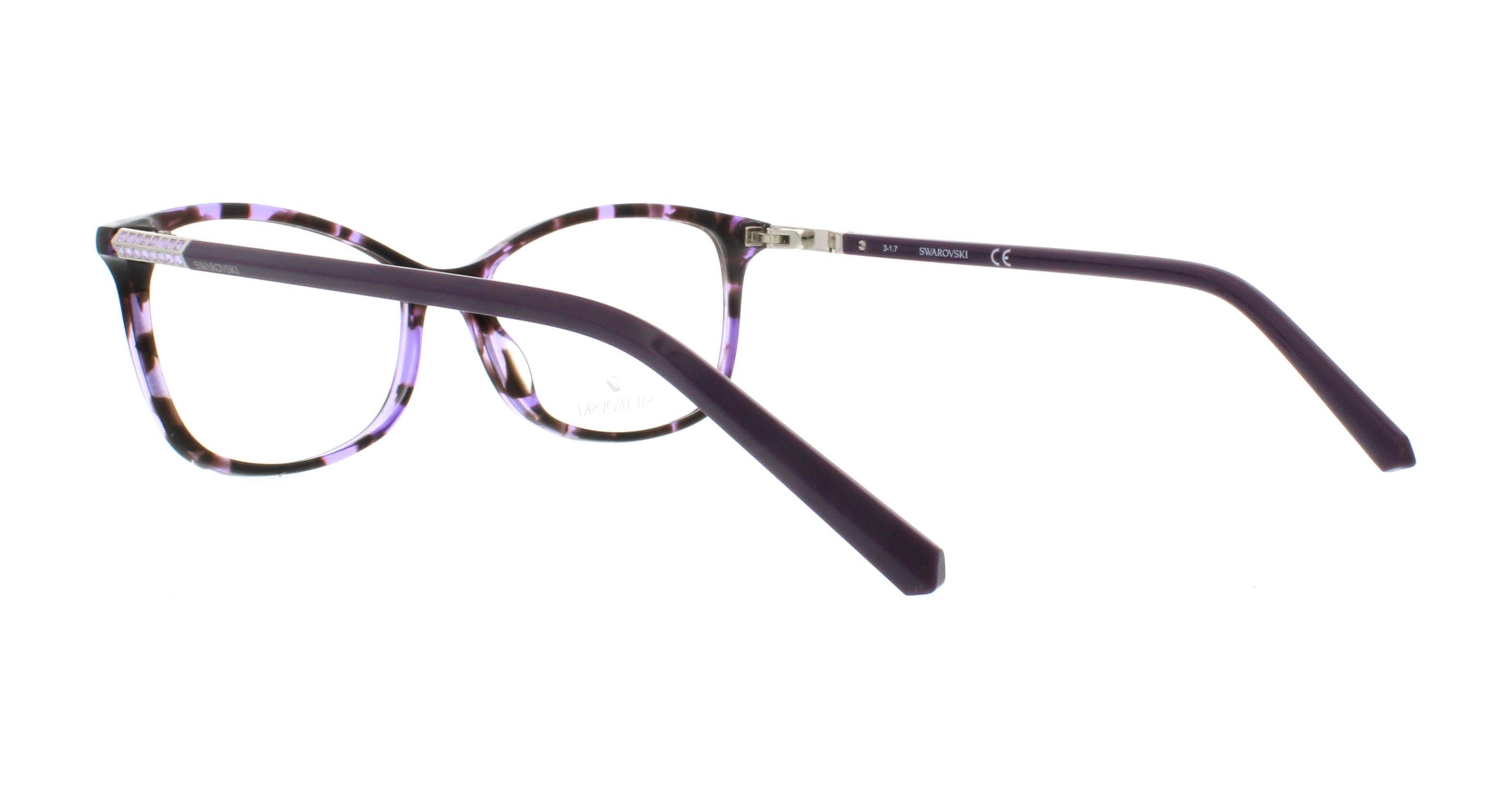 e925c47c230 SWAROVSKI Eyeglasses SK5239 055 Colored Havana 53MM 664689889938