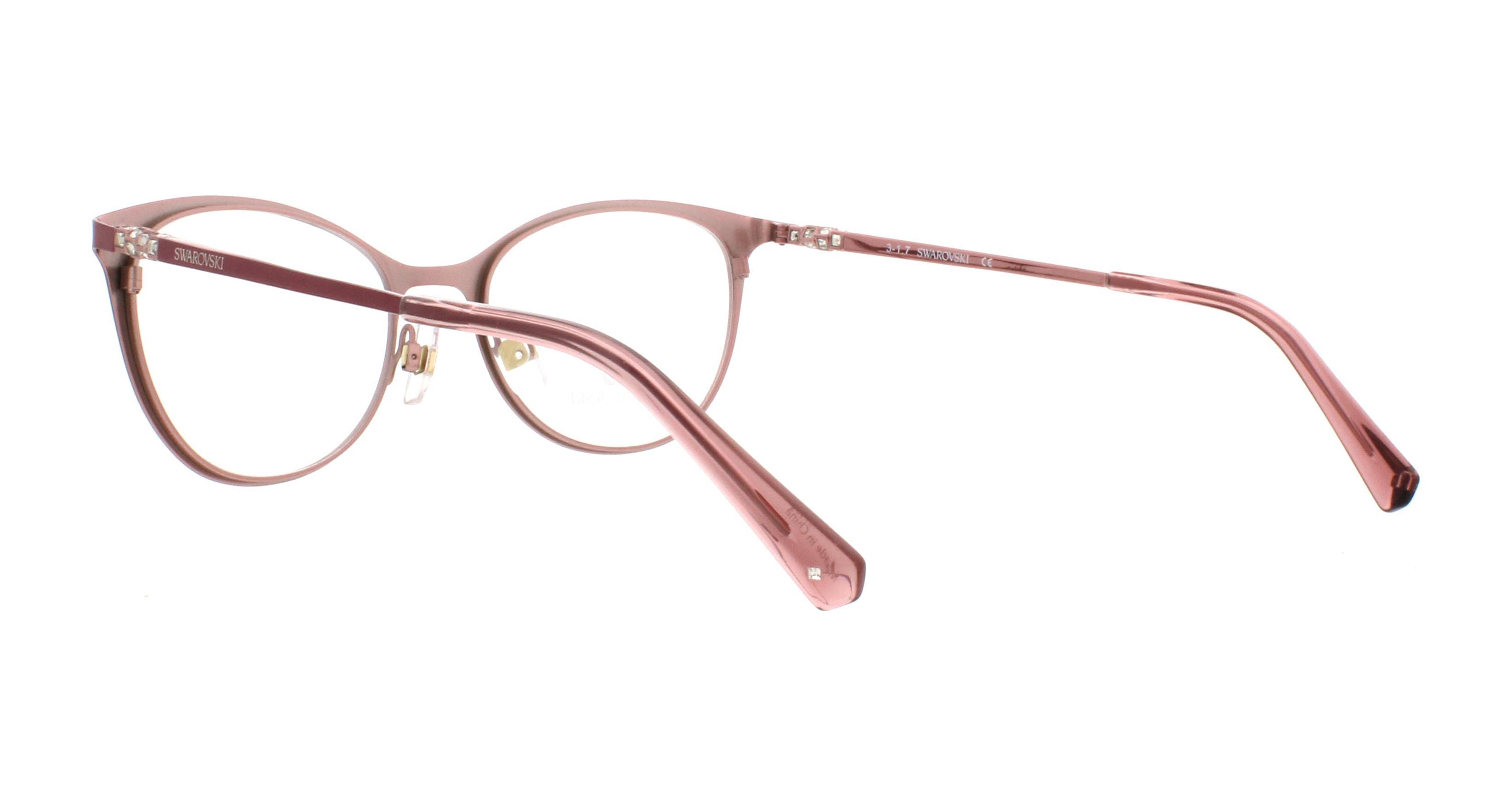 64c868ff34a6 SWAROVSKI Eyeglasses SK5248 072 Shiny Pink 52MM 664689906338