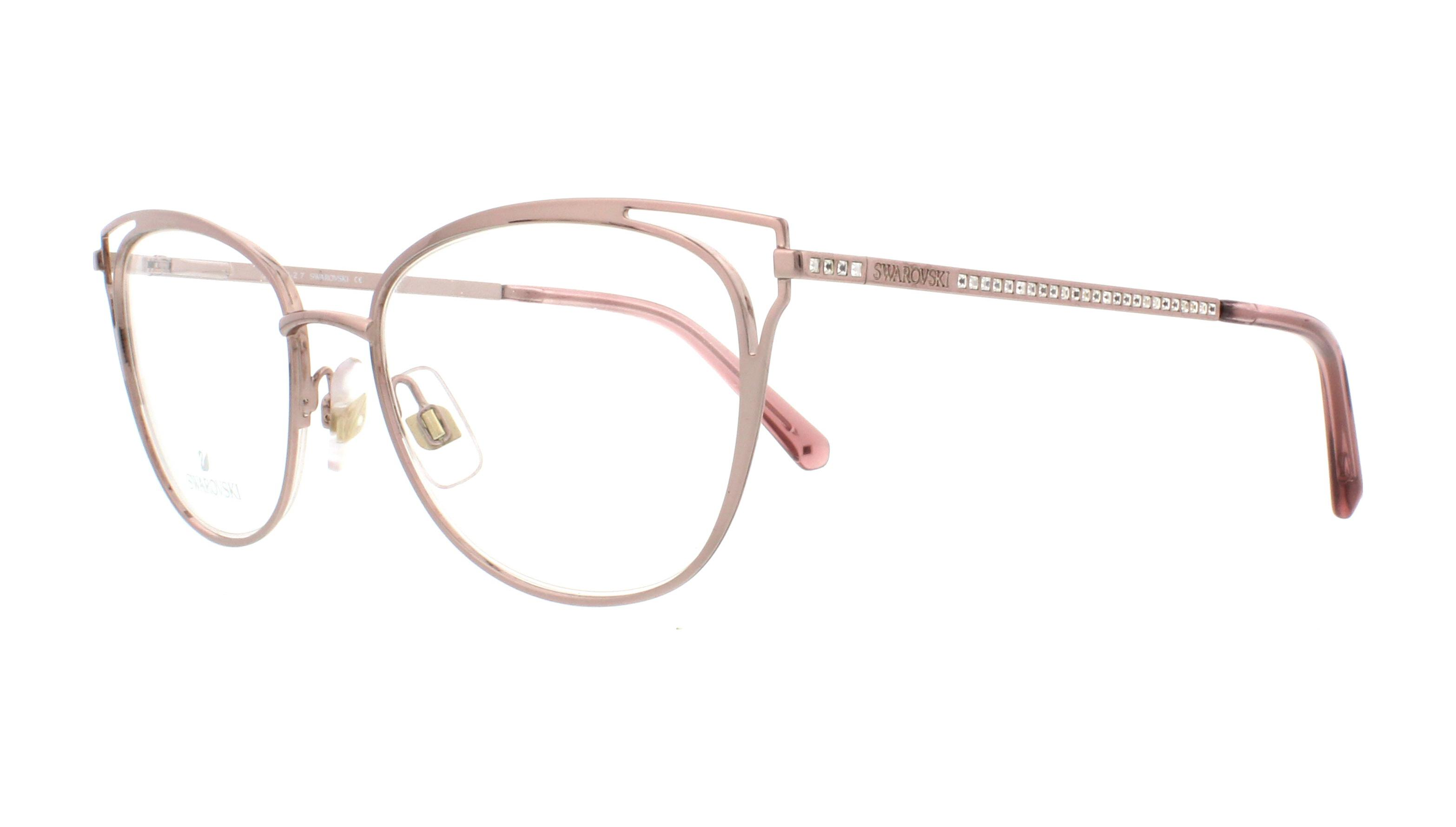 9fc562ecc583 SWAROVSKI Eyeglasses SK5260 072 Shiny Pink 52MM 664689950089