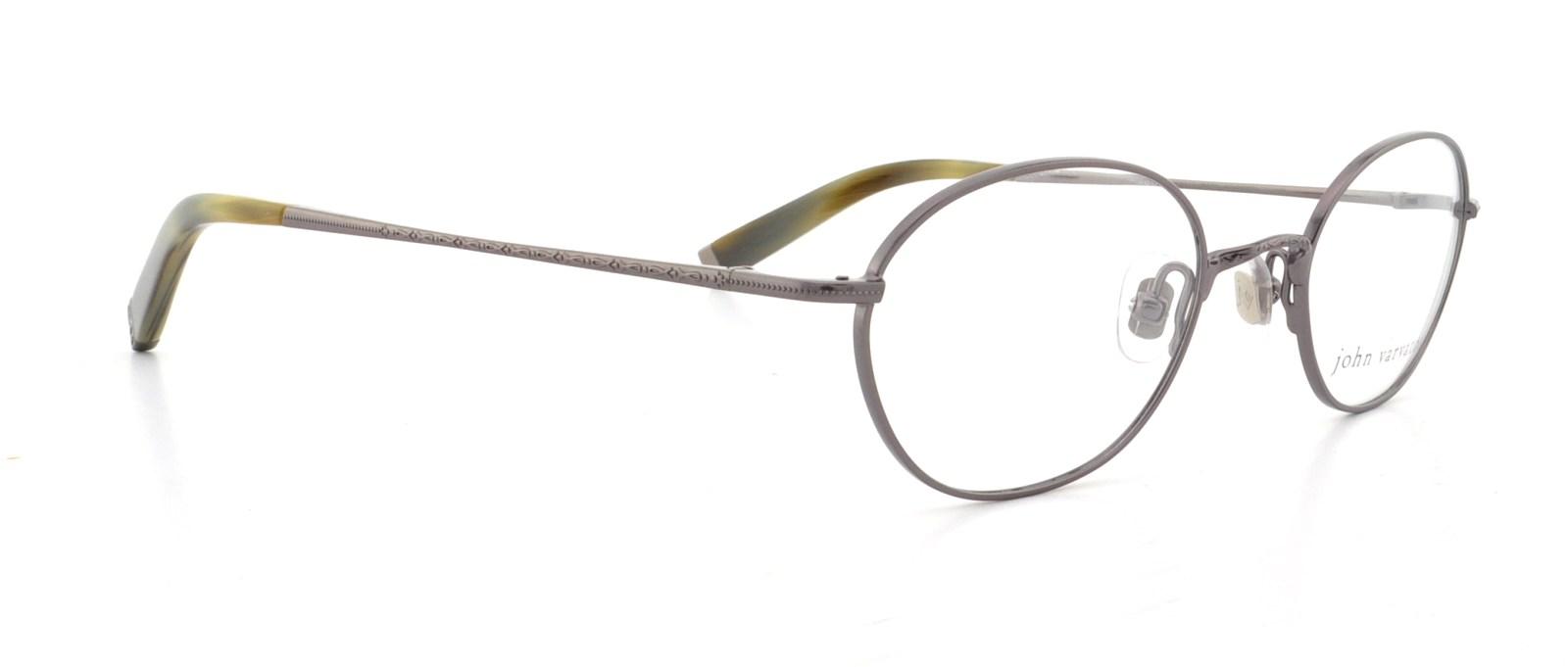 John Varvatos Eyeglasses V111 Gunmetal 46mm 751286079746