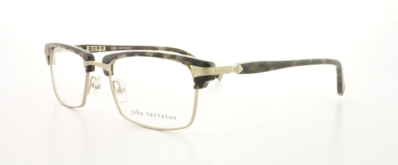 30a4350bd3 JOHN VARVATOS Eyeglasses V145 Smoke Tortoise 53MM 751286247060