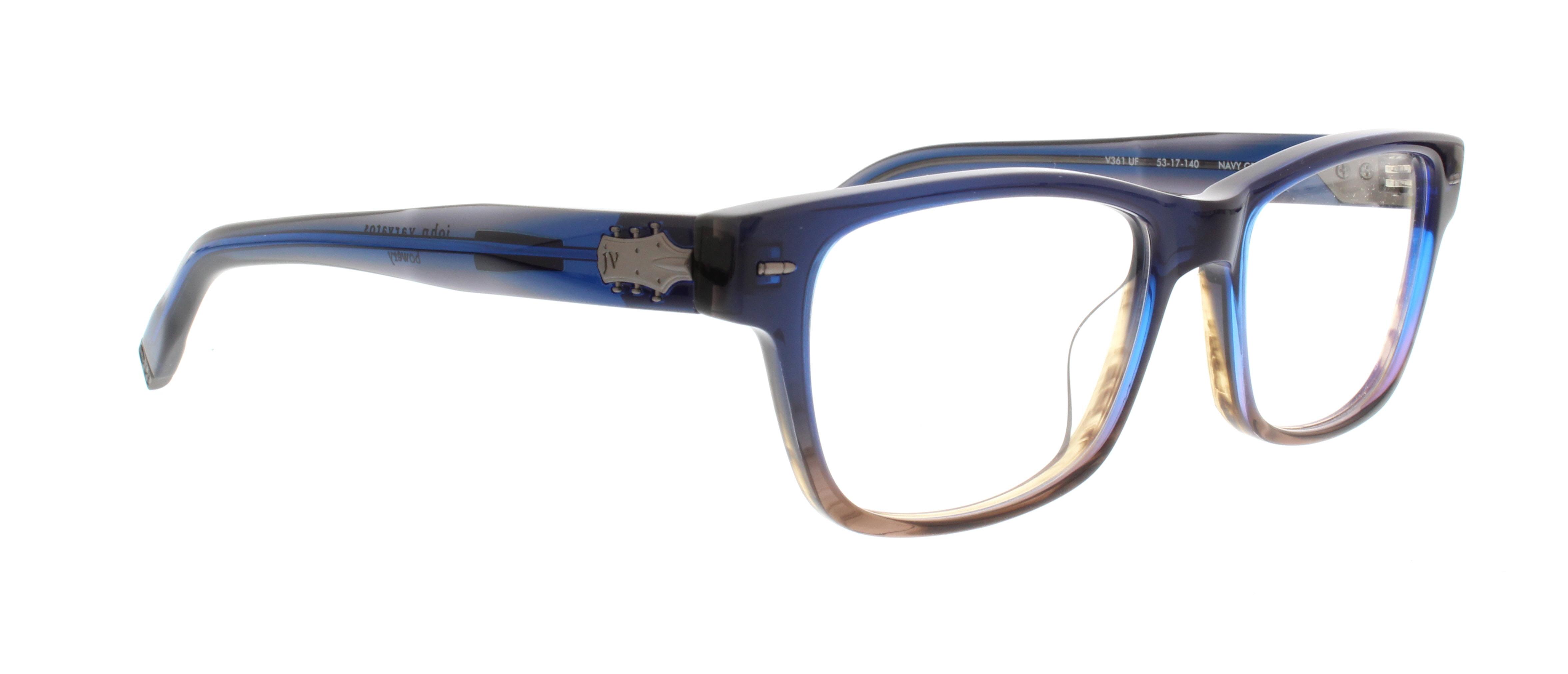 548b5c839b JOHN VARVATOS Eyeglasses V361 UF Navy Gradient 53MM 751286265934