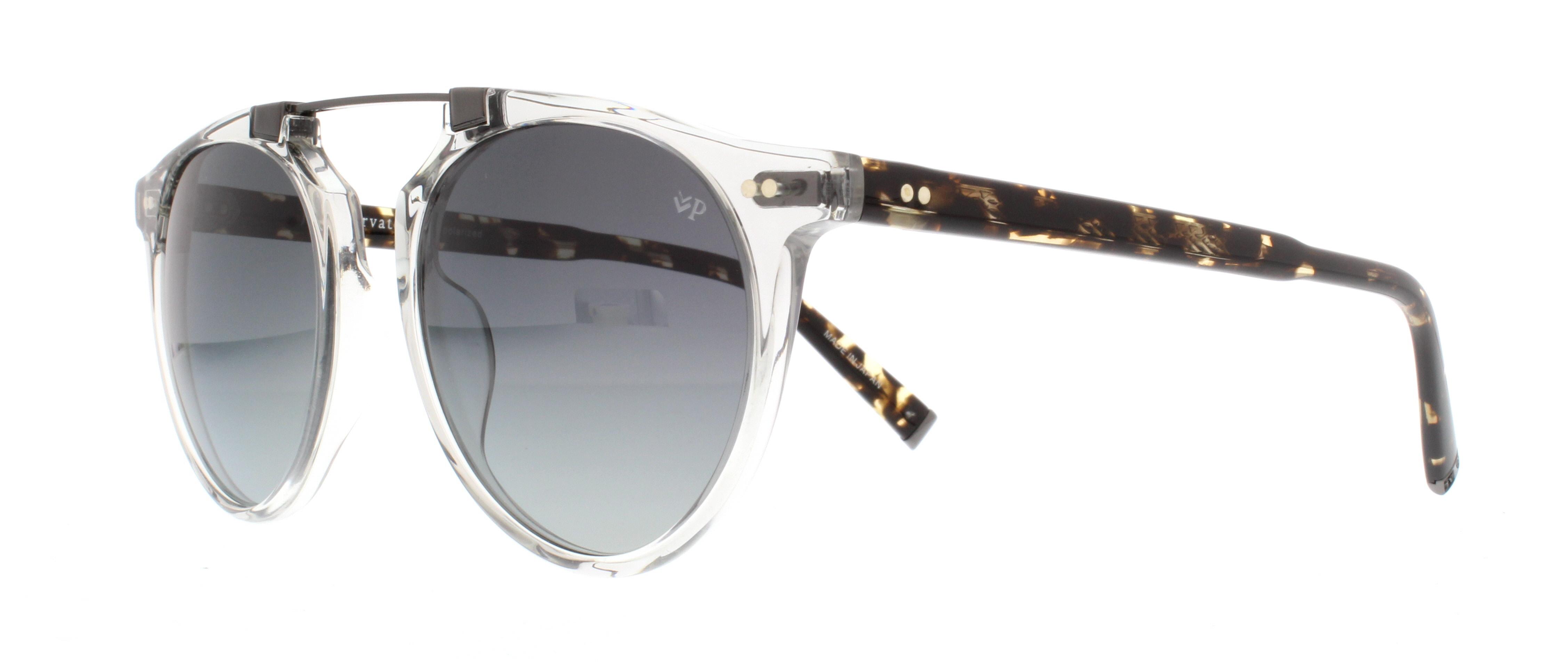 51d374ac6a JOHN VARVATOS Sunglasses V602 UF Grey Crystal 52MM 751286276947