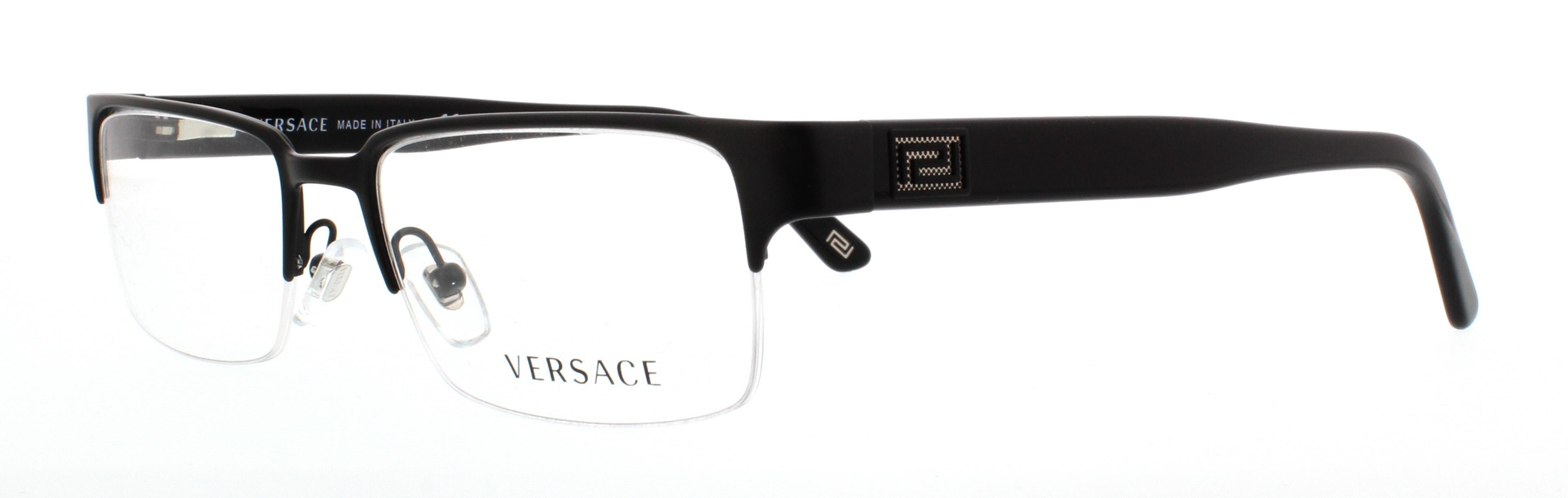 c2cc3b05e751 VERSACE Eyeglasses VE1184 1261 Matte Black 53MM 725125715010