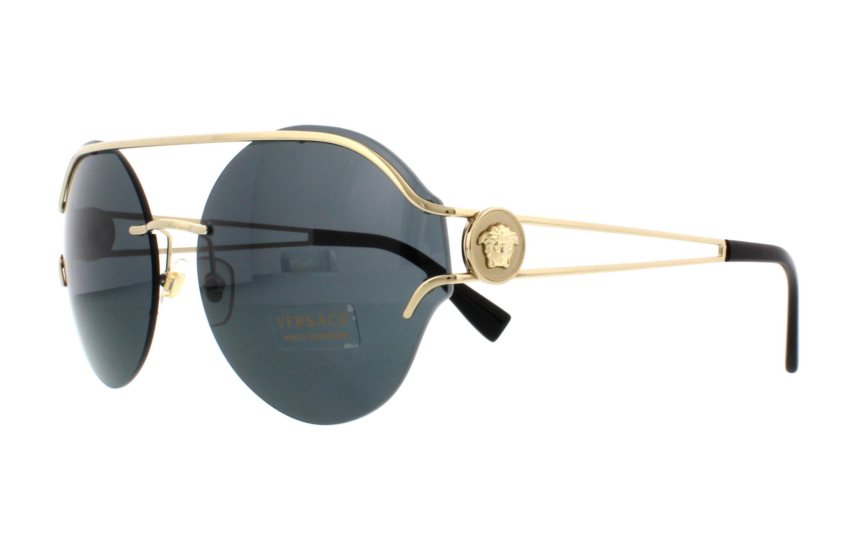 60e9132c8ca55 VERSACE Sunglasses VE2184 125287 Pale Gold 61MM 8053672800937