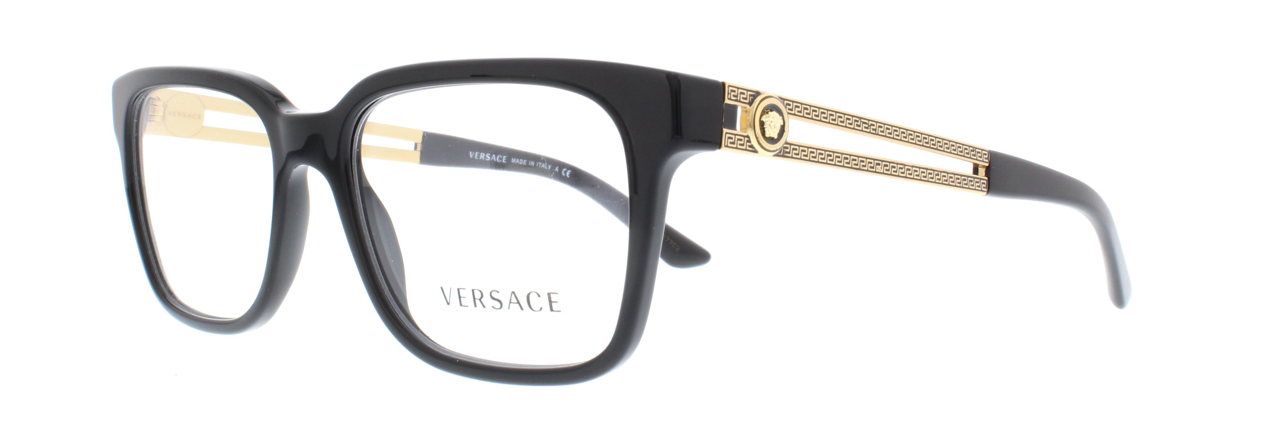 6a3e632bb354 Versace Glasses Frames Black And Gold - Bitterroot Public Library