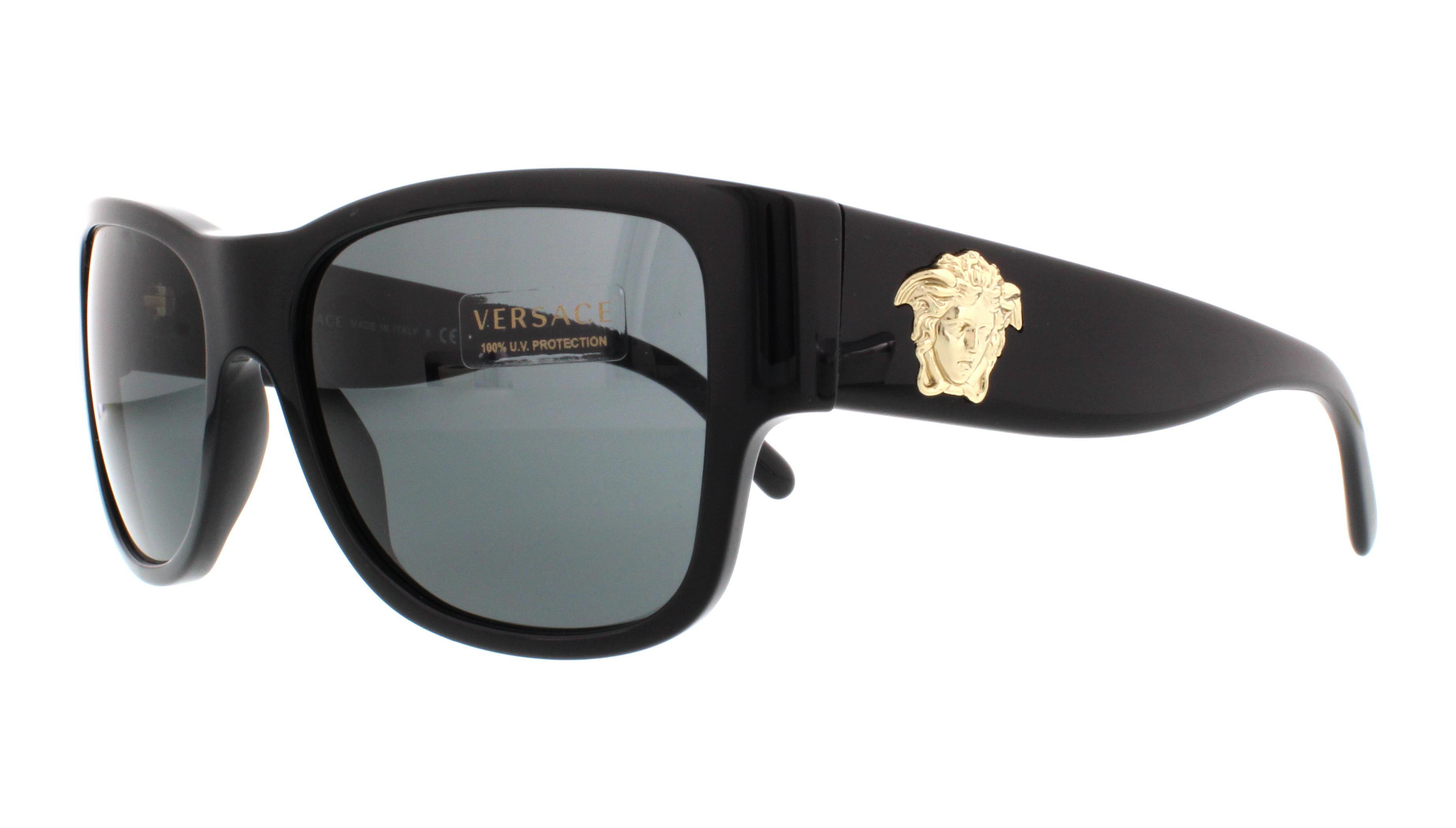 VERSACE Sunglasses VE4275 GB1/87 Black 58MM 8053672278972 | eBay