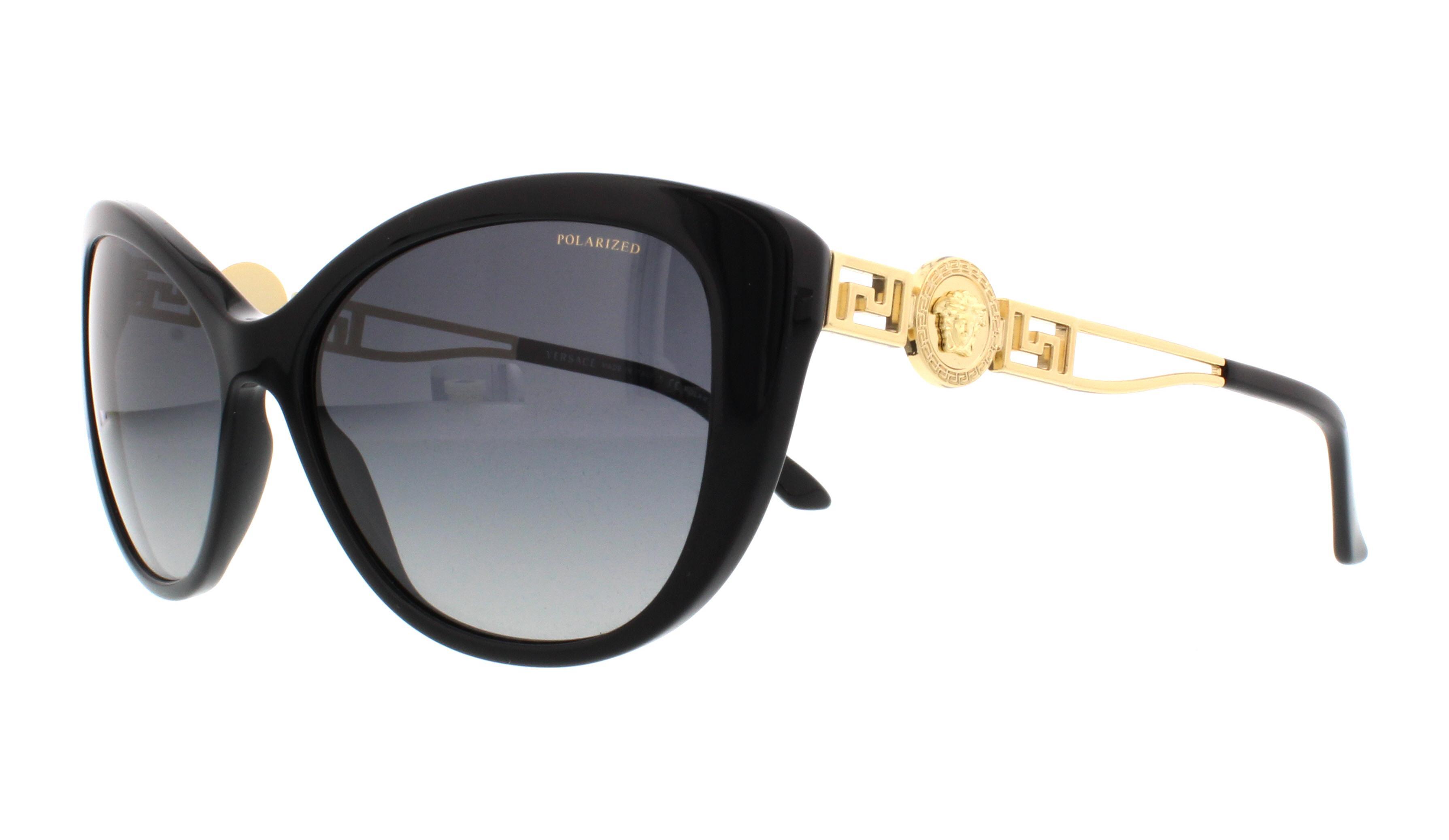 Negro Ve4295 Versace Gb1t3 sol 57mm Gafas de wt0qxEgyXZ