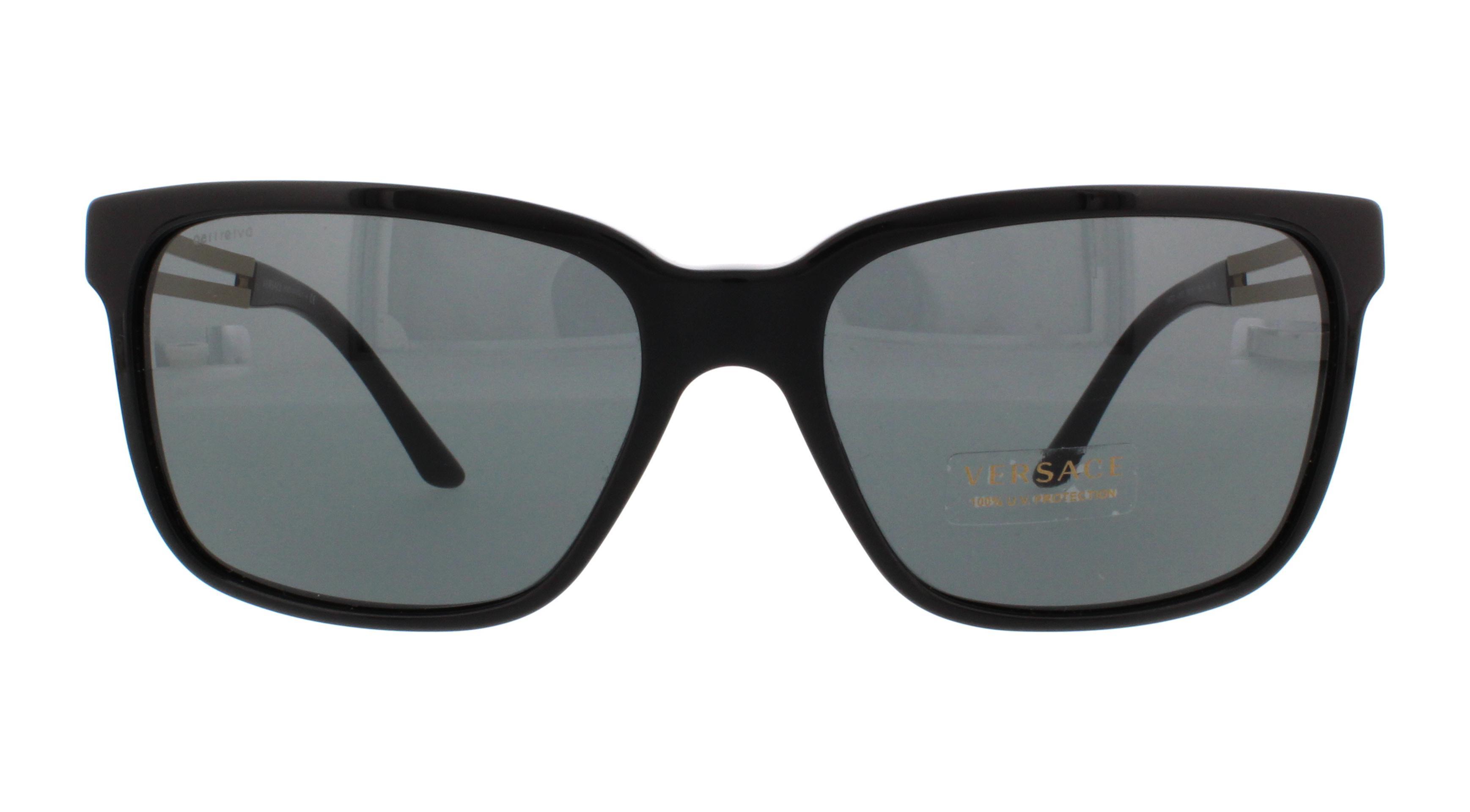 c0234ffcad0 VERSACE Sunglasses VE4307 GB1 87 Black 58MM 8053672469950