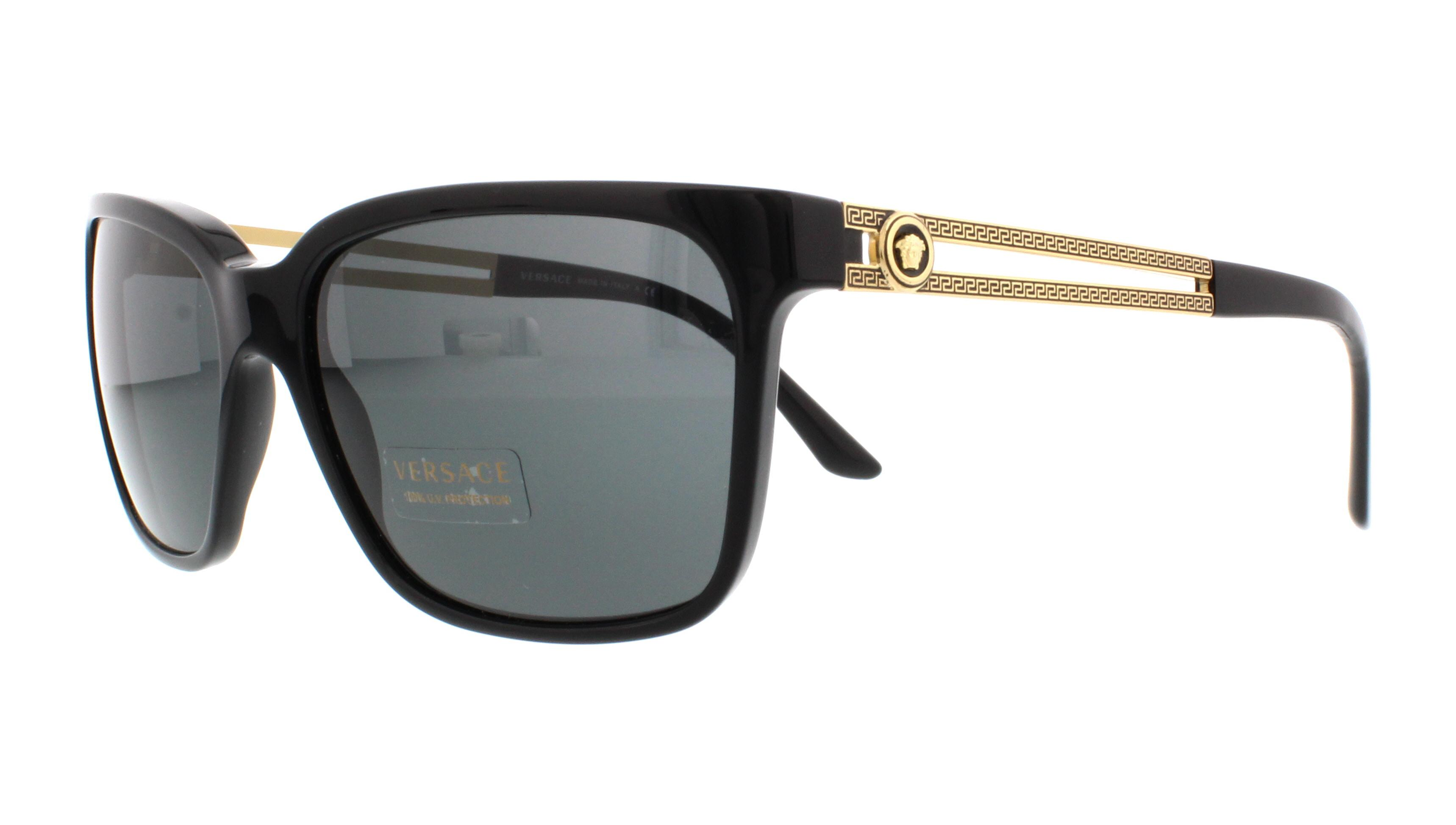 9d3fd883b0 VERSACE Sunglasses VE4307 GB1 87 Black 58MM 8053672469950