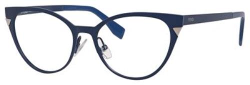 d901f04356 FENDI Eyeglasses 0126 0MQH Matte Blue 51MM 762753236012