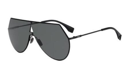 07e18eb901 FENDI Sunglasses FF 0193 S 0807 Black 99MM 716736001975