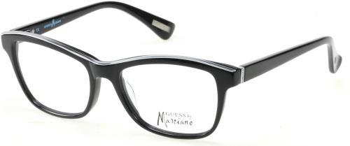 8e4f17ce66da GUESS BY MARCIANO Eyeglasses GM0246 B84 Black Viva Olive 54MM ...