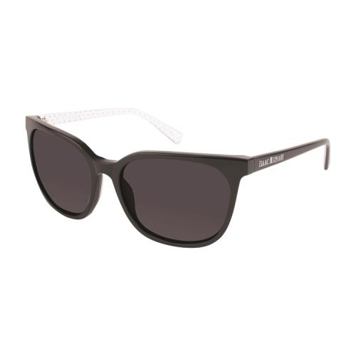 e3c5ddeb433 ISAAC MIZRAHI Sunglasses IM 30207 BK Black 55MM 883475909616