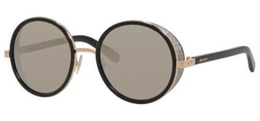 21c34e53677 Details about JIMMY CHOO Sunglasses ANDIE S 0J7Q Rose Gold  Black 54MM