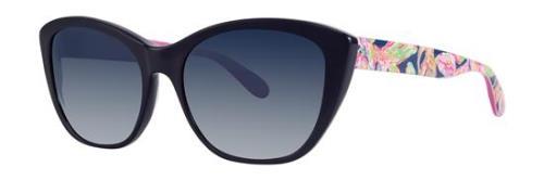 574160ed3e4 Lilly Pulitzer Gafas para sol FLYNN Azul Marino Candy 55MM