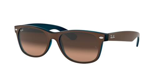 b9cae14348a1 RAY BAN Sunglasses RB2132 6310A5 Matte Chocolate On Opal Yellow 55MM ...