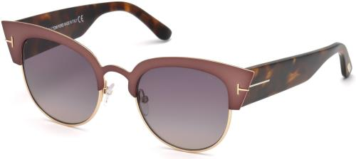 da22f540215 TOM FORD Sunglasses FT0607 ALEXANDRA-02 74B Pink 51MM 664689929023 ...