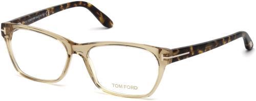 7aa1421f60fb TOM FORD Eyeglasses FT5405 045 Shiny Light Brown 54MM 664689785728 ...